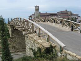Мост на игрище за голф - Изображение 1