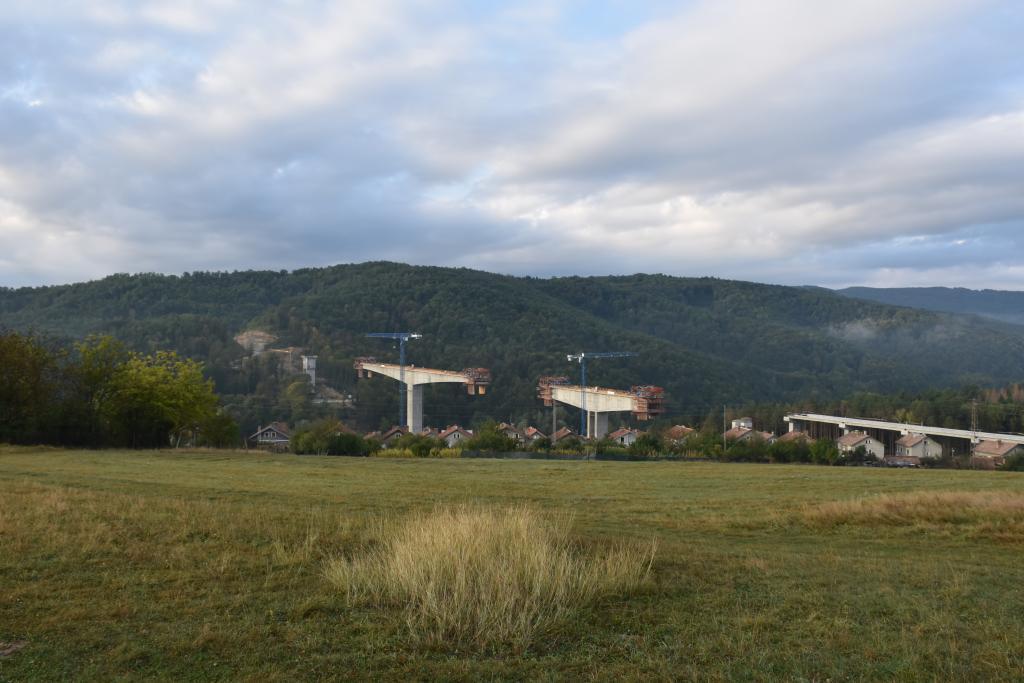 Изграждане на мост - Габрово - голяма снимка