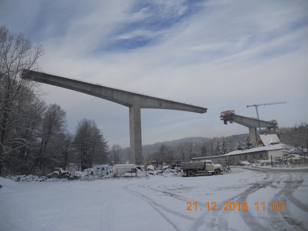 Обход на гр. Габрово, Виадукт на км. 11 +800 - голяма снимка